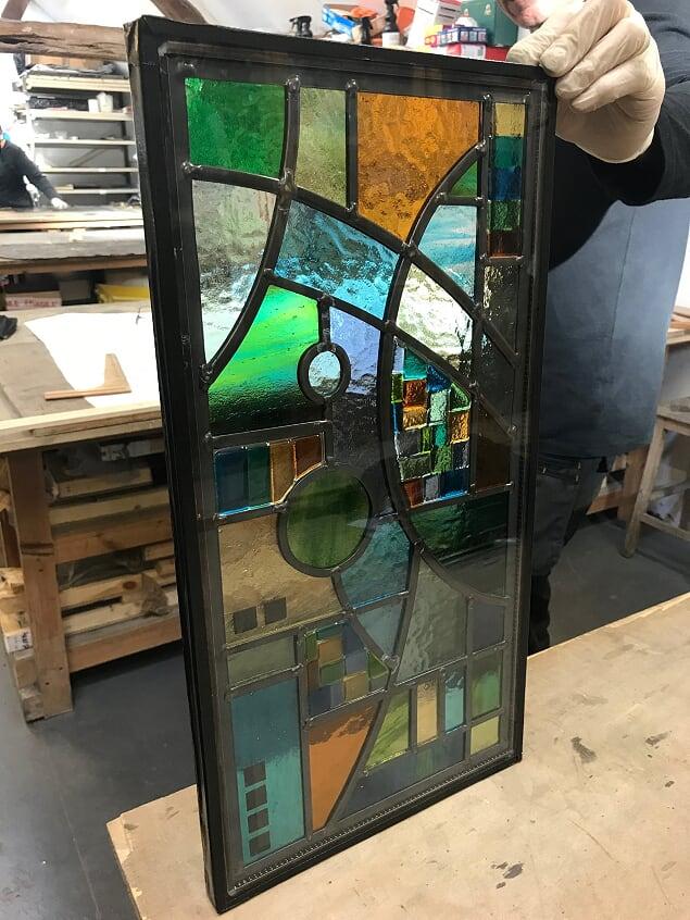 The triple glazed unit