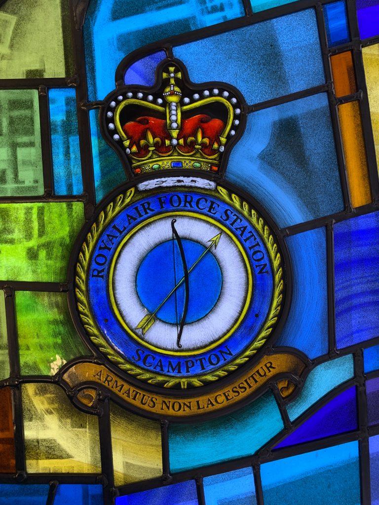 RAF Scampton crest